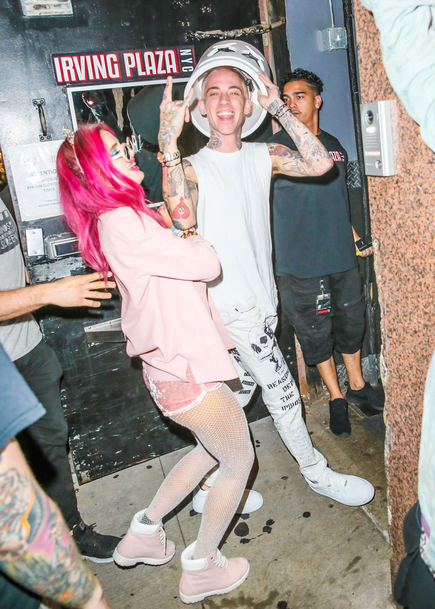 Bella Thorne In Pink At Blackbear In Nyc 30 Gotceleb