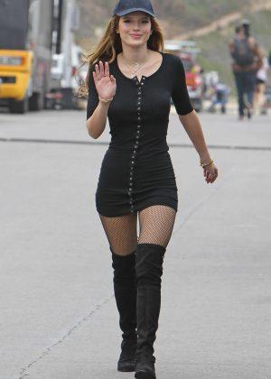 Bella Thorne in Short Dress on You Get Me -02 - GotCeleb
