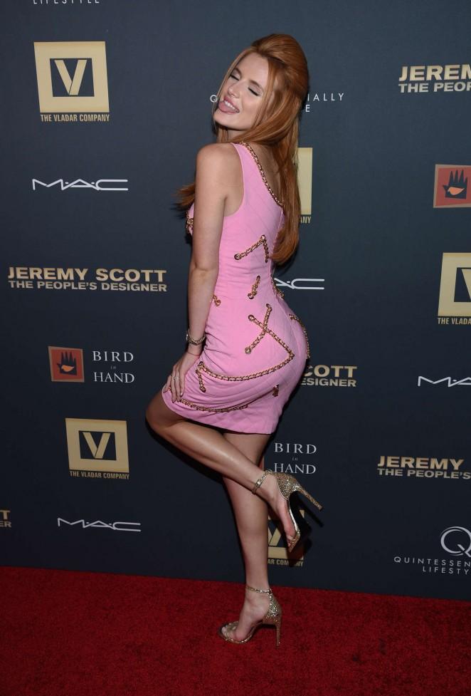 Bella Thorne – 'Jeremy Scott: The People's Designer' Premiere in NY