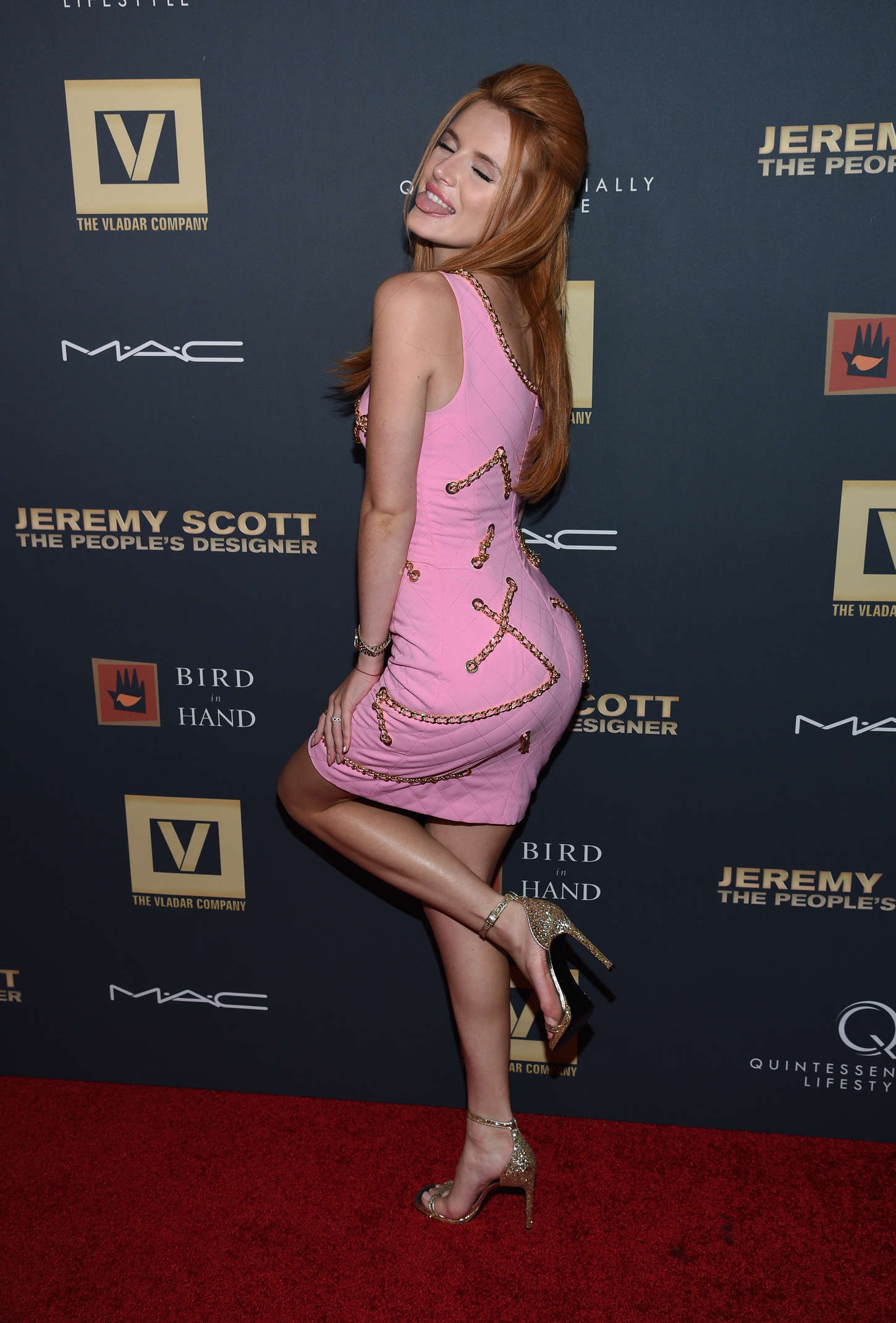 Bella Thorne - 'Jeremy Scott: The People's Designer' Premiere in NY