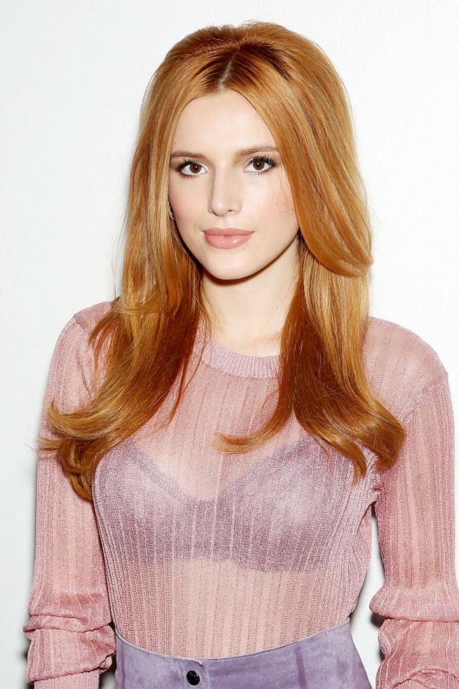 Bella Thorne - Jill Stuart Presentation at Spring 2016 NYFW in NYC