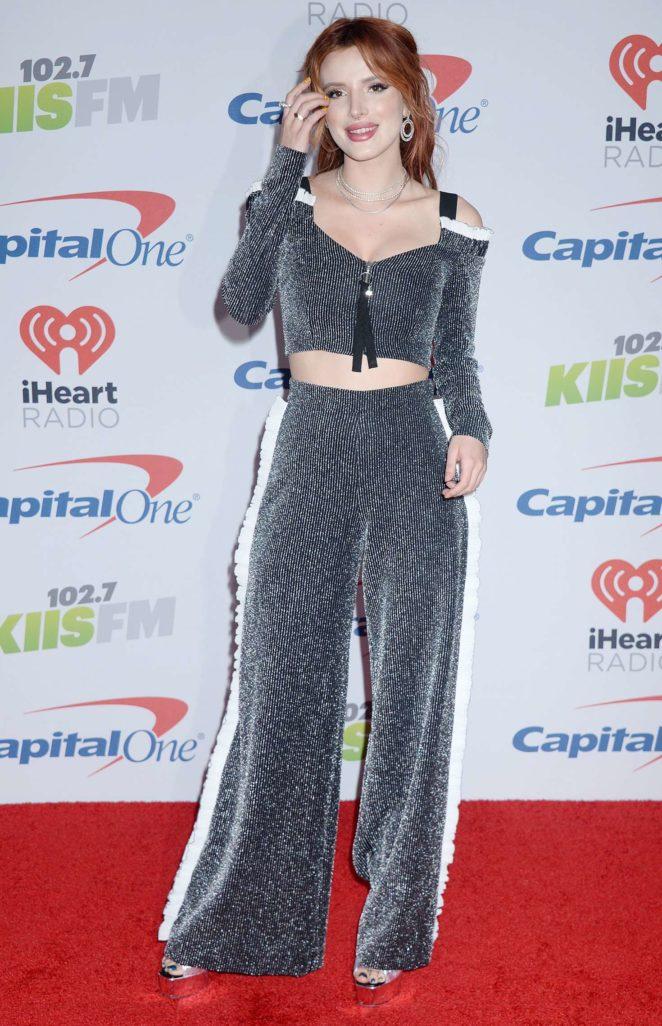 Bella Thorne - KIIS-FM Jingle Ball 2017 in Los Angeles