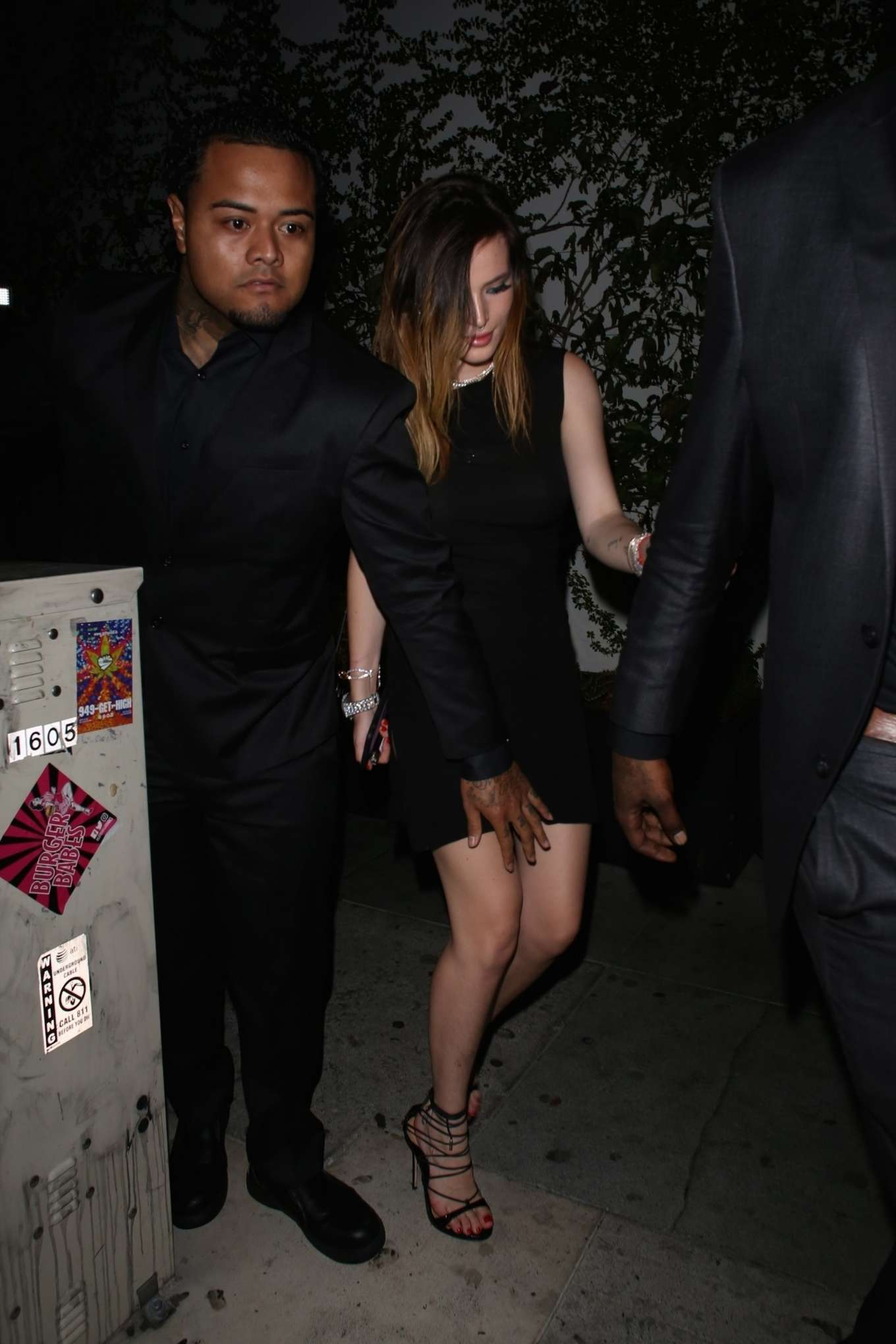 Bella Thorne 2019 : Bella Thorne: Leaves Kristen Stewarts After Party -04