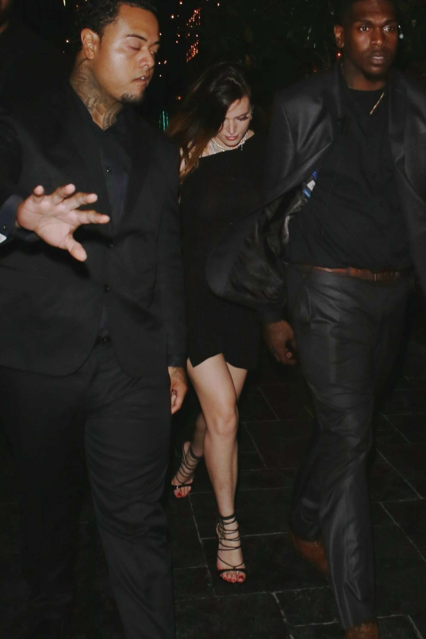 Bella Thorne 2019 : Bella Thorne: Leaves Kristen Stewarts After Party -05