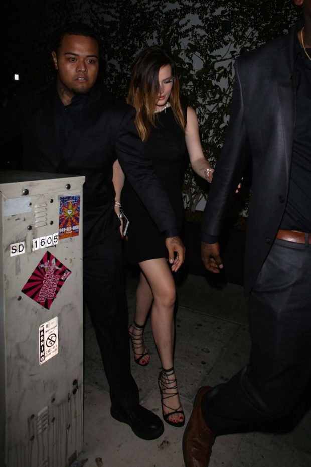 Bella Thorne - Leaves Kristen Stewart's After Party in LA