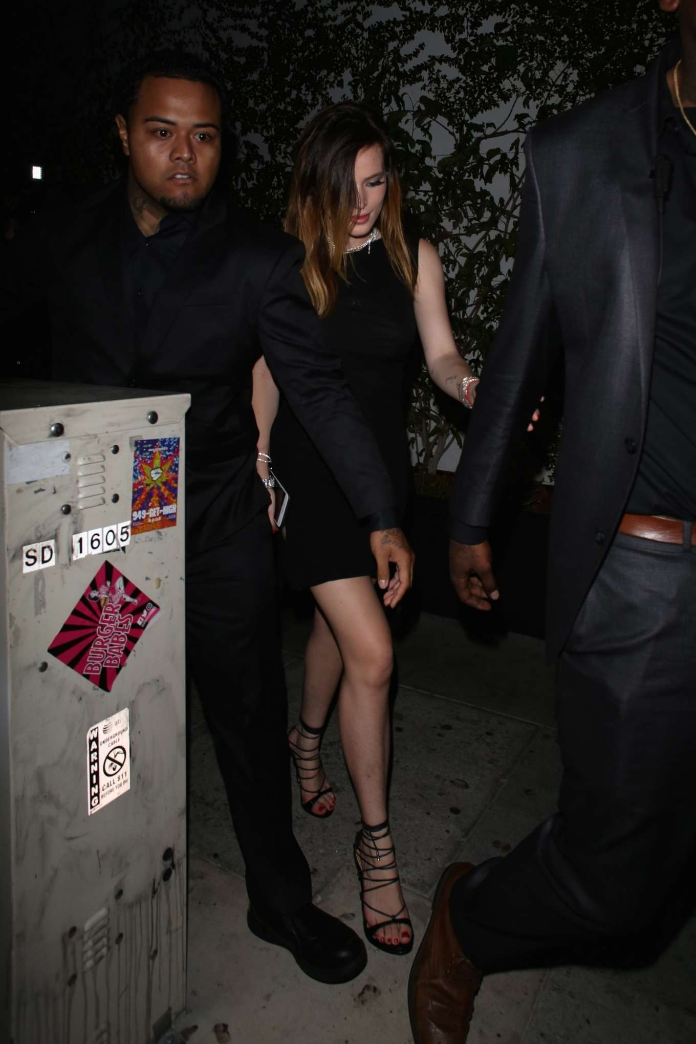 Bella Thorne 2019 : Bella Thorne: Leaves Kristen Stewarts After Party -07