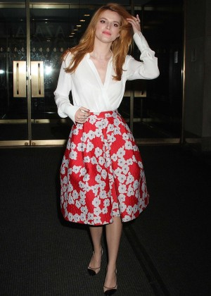 Bella Thorne: Leaving a party -04