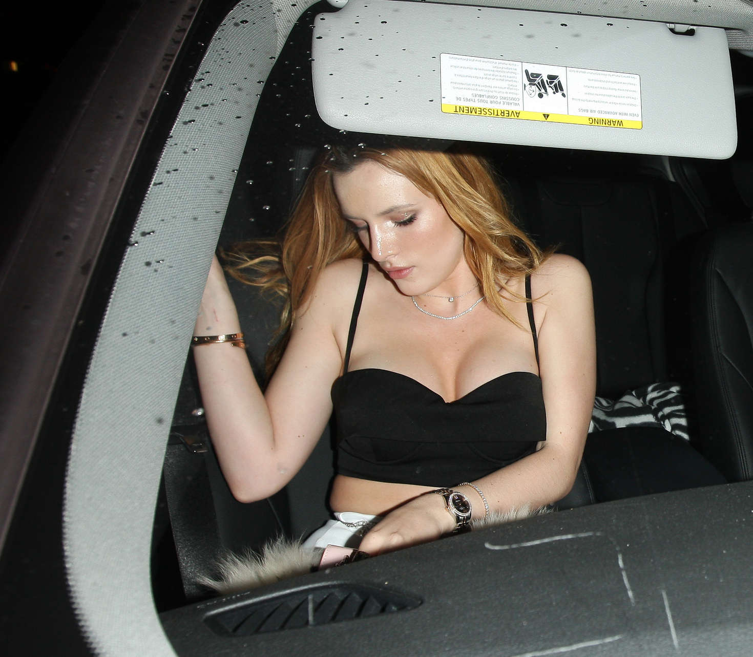Bella Thorne 2016 : Bella Thorne: Leaving a party -07