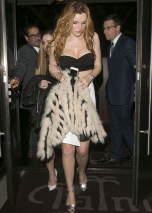Bella Thorne: Leaving a party -10