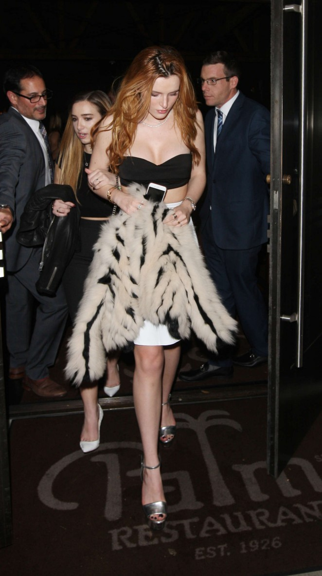 Bella Thorne 2016 : Bella Thorne: Leaving a party -21