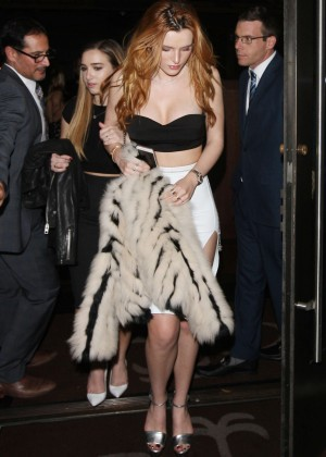 Bella Thorne: Leaving a party -24