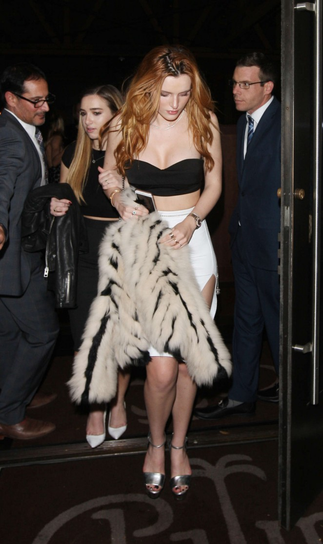 Bella Thorne 2016 : Bella Thorne: Leaving a party -24