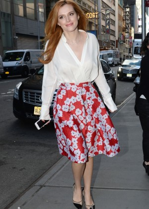 Bella Thorne: Leaving a party -29