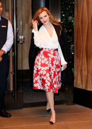 Bella Thorne: Leaving a party -34