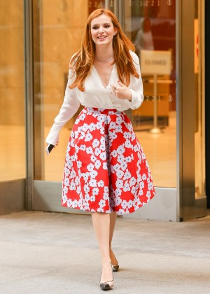 Bella Thorne: Leaving a party -39