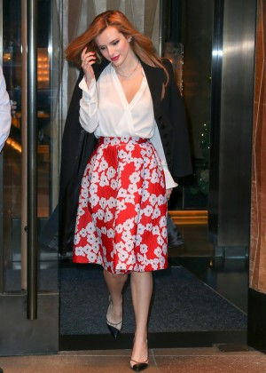 Bella Thorne: Leaving a party -48