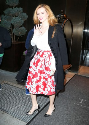 Bella Thorne: Leaving a party -54