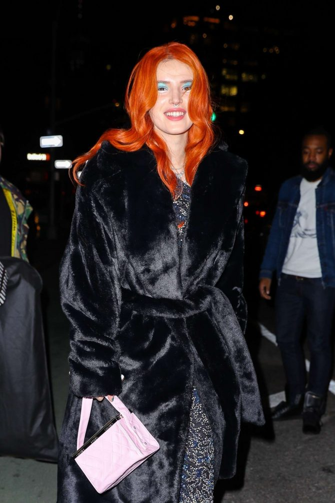 Bella Thorne – Leaving her hotel in NYC