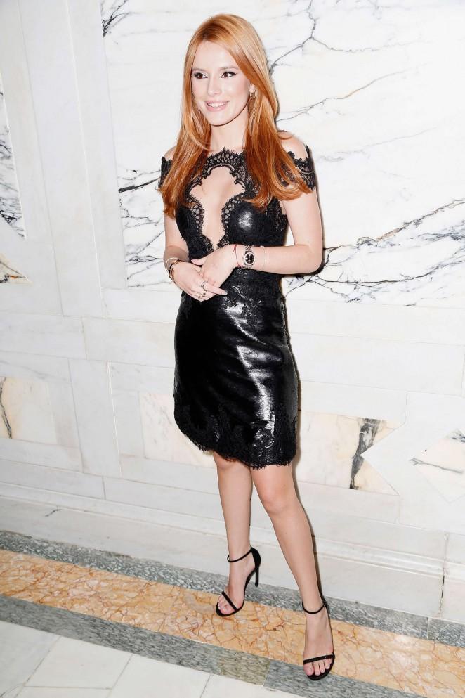 Bella Thorne - Marchesa Fashion Show Spring 2016 NYFW in NYC