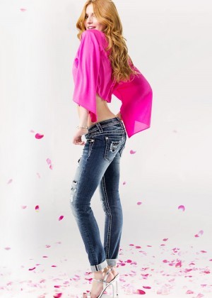Bella Thorne - Miss Me Jeans 2015 Campaign adds