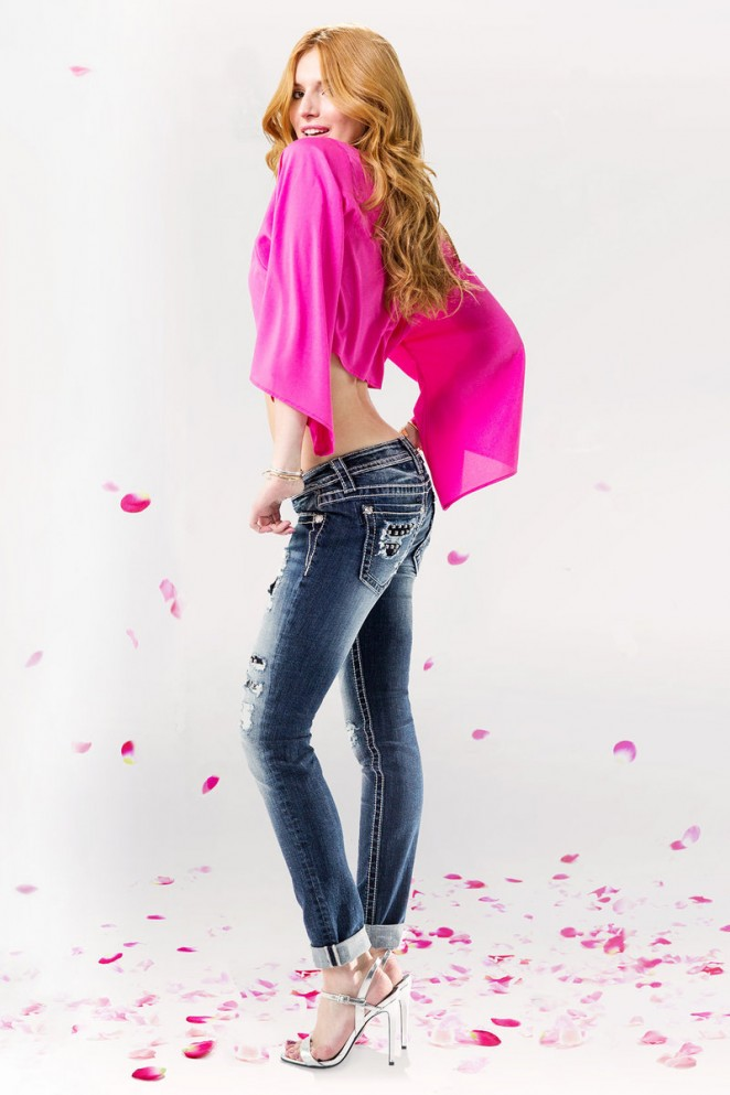 Bella Thorne – Miss Me Jeans 2015 Campaign adds