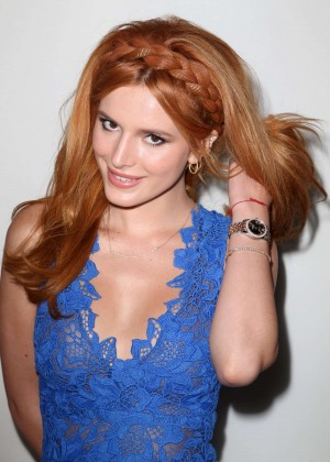 Bella Thorne - Monique Lhuillier Fashion Show Spring 2016 NYFW in NYC