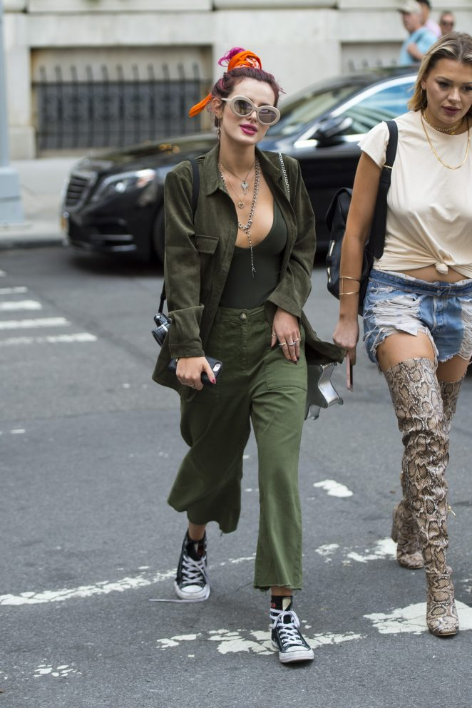 Bella Thorne Out and about in New York City