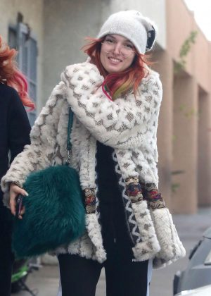 Bella Thorne Out for Breakfast in Los Angeles