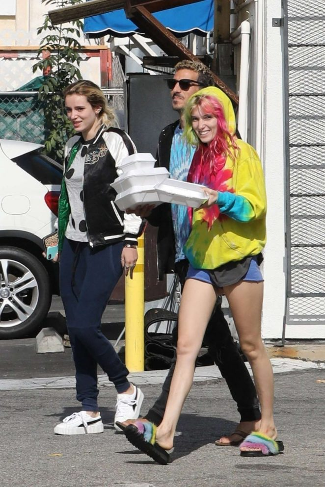 Bella Thorne Out in Los Angeles -11