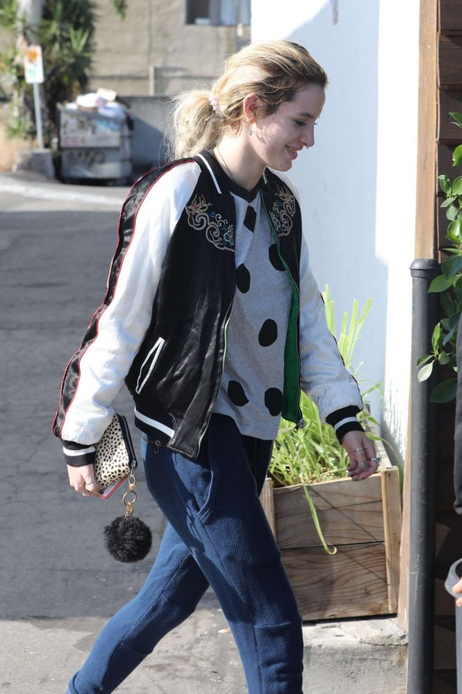 Bella Thorne Out in Los Angeles
