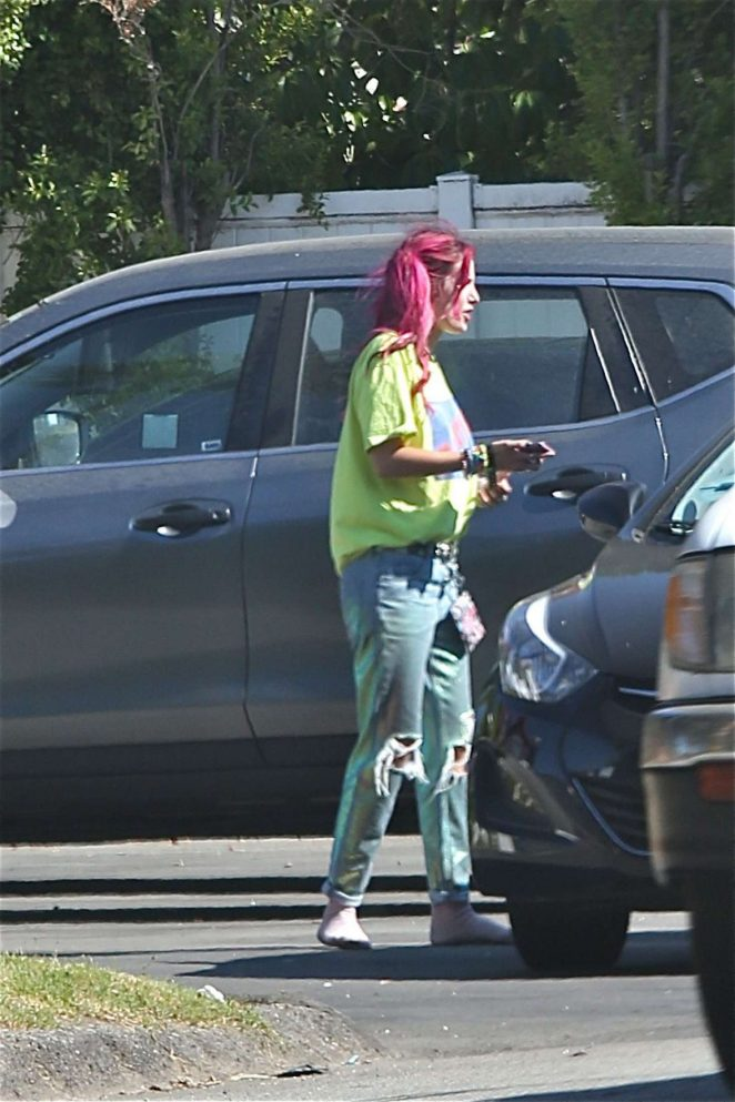 Bella Thorne out in Los Angeles -06