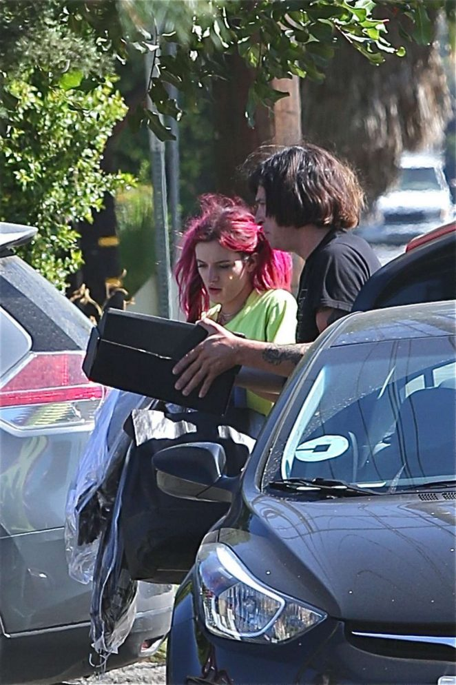 Bella Thorne out in Los Angeles -16