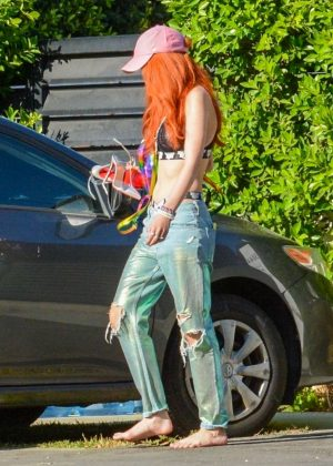 Bella Thorne - Out in Los Angeles