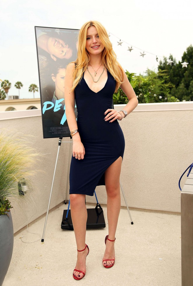 Bella Thorne – 'Perfect High' Premiere and Periscope Party in LA