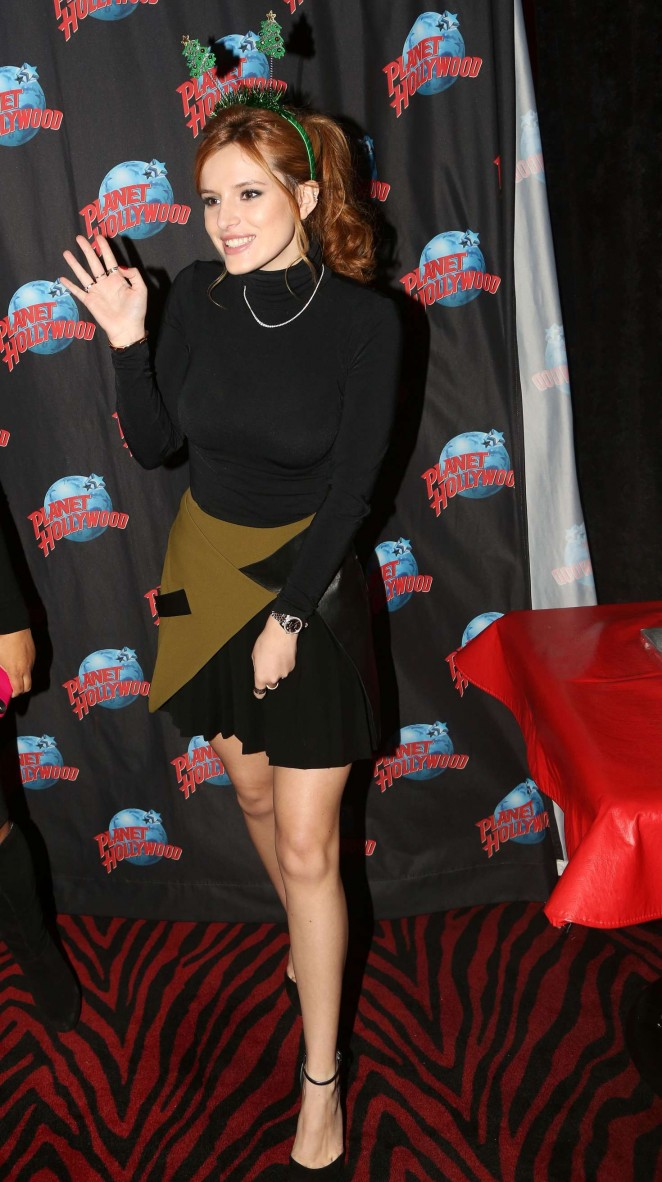 Bella Thorne - Planet Hollywood Times Square in NYC