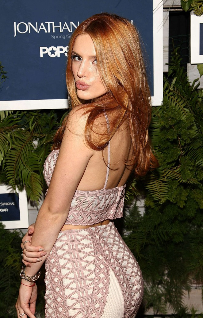 Bella Thorne - POPSUGAR Party for Jonathan Simkhai at NYFW