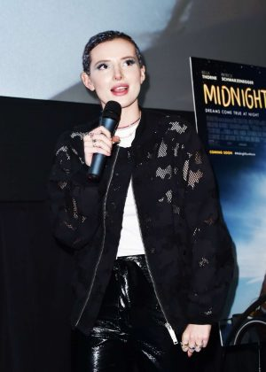 Bella Thorne - Promotes 'Midnight Sun' in Miami Beach