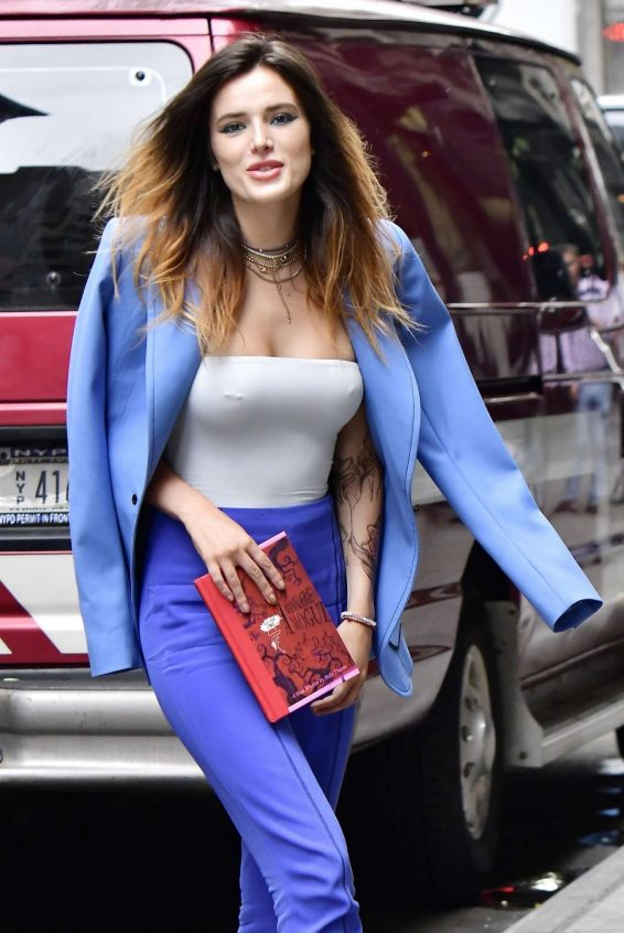 Bella Thorne - Promoting her new book in New York