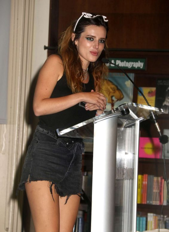 Bella Thorne - Promoting her new book 'Life of a Wannabe Mogul: Mental Disarray' in New York