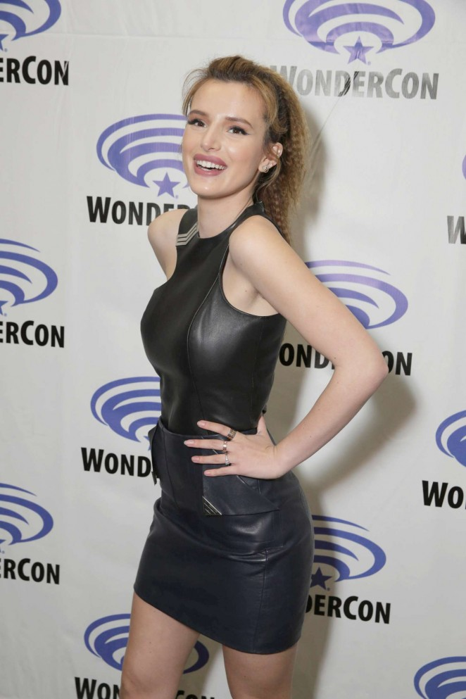 Bella Thorne – Ratchet and Clank WonderCon 2016 in Los Angeles