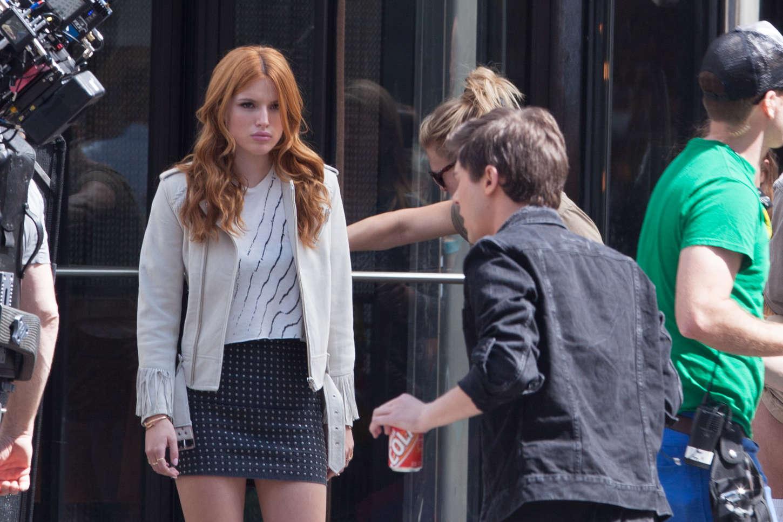 Bella Thorne 2015 : Bella Thorne in Mini Skirt -09