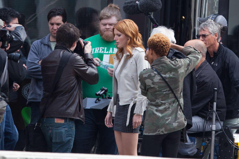 Bella Thorne 2015 : Bella Thorne in Mini Skirt -17