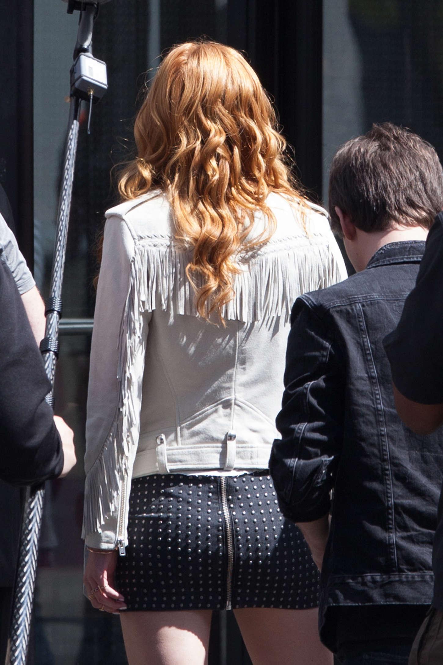 Bella Thorne 2015 : Bella Thorne in Mini Skirt -28