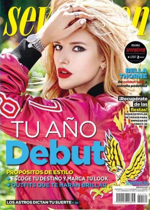 Bella Thorne - Seventeen Mexico Cover