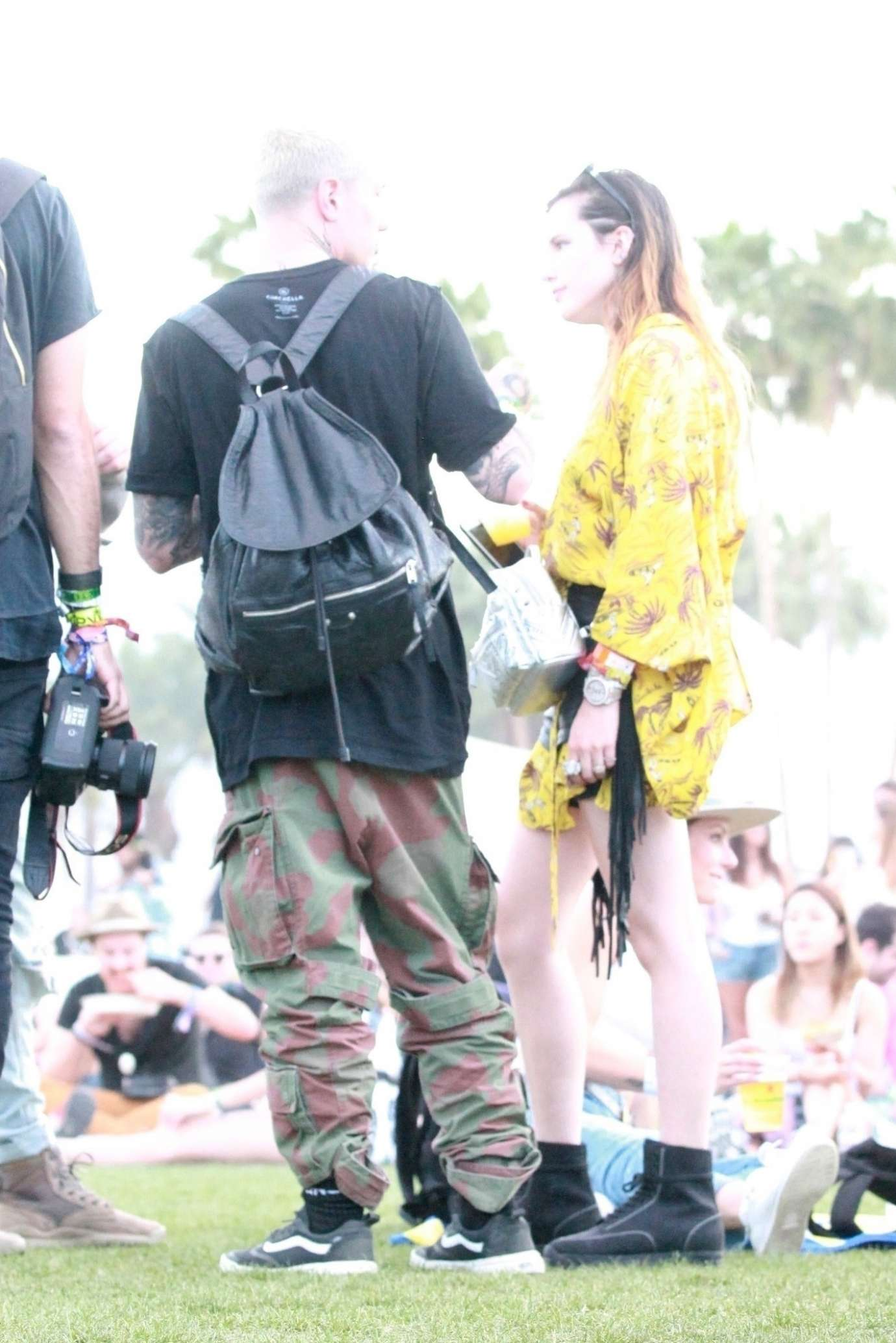 Bella Thorne 2019 : Bella Thorne: Spotted with a mystery man in Indio-06