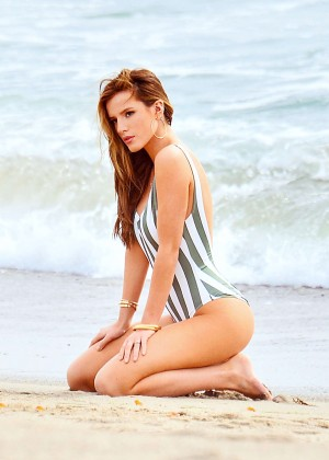 Bella Thorne - Swimsuit Photoshoot in Malibu