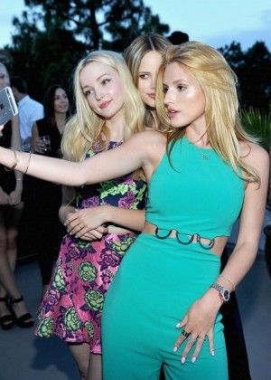 Bella Thorne - Teen Vogue's Back-to-School Dinner Party in LA (adds)