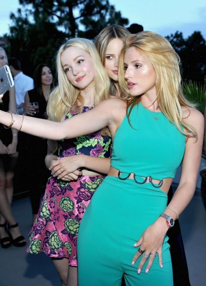 Bella Thorne – Teen Vogue's Back-to-School Dinner Party in LA (adds)