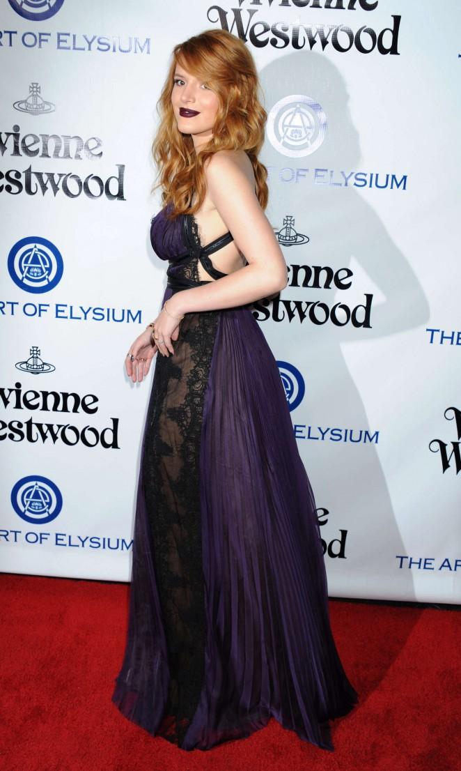 Bella Thorne 2016 : Bella Thorne: The Art of Elysium 2016 HEAVEN Gala -07