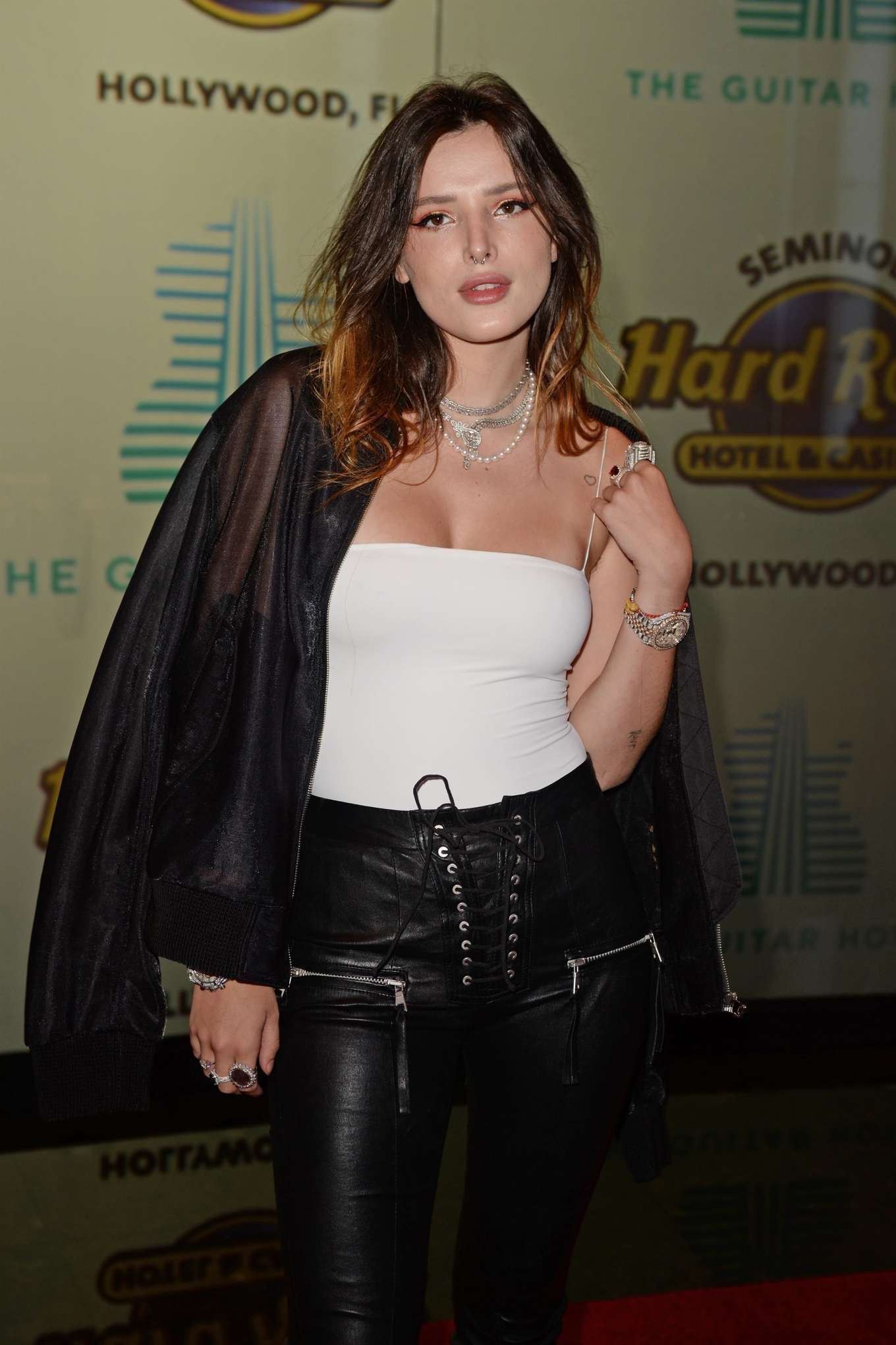Bella Thorne - The Grand Opening of the Guitar Hotel in Hollywood
